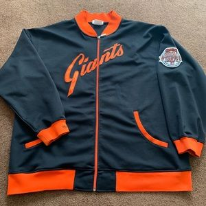 Mitchell and ness San Francisco giants 4xl zip up
